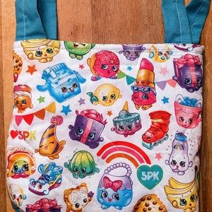 Shopkins purse bag tote handmade